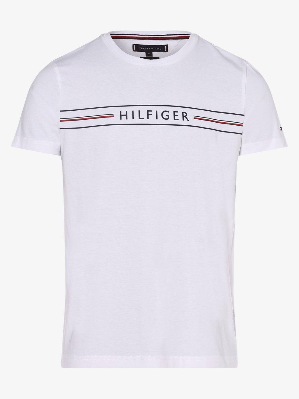 Tommy Hilfiger - T-shirt męski, biały
