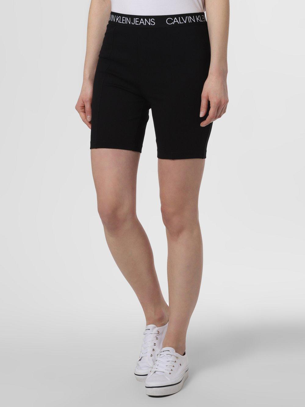 Calvin Klein Jeans - Spodenki damskie, czarny