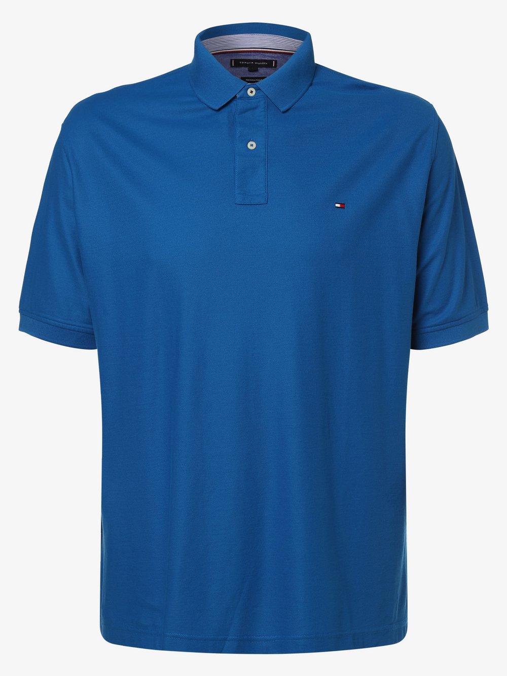 Tommy Hilfiger - Męska koszulka polo, niebieski