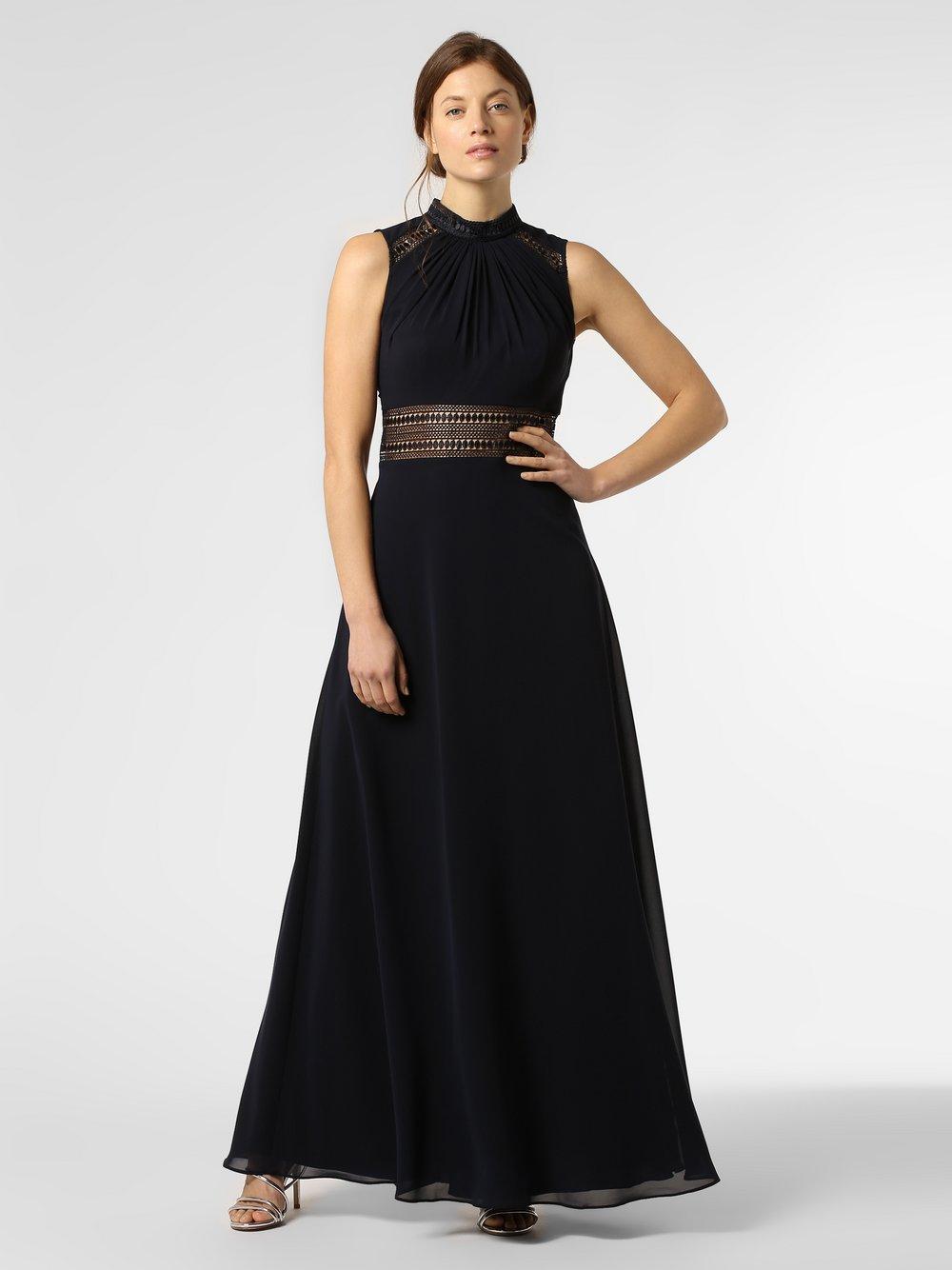 VM – Damska sukienka wieczorowa, niebieski Van Graaf 463058-0001-00320