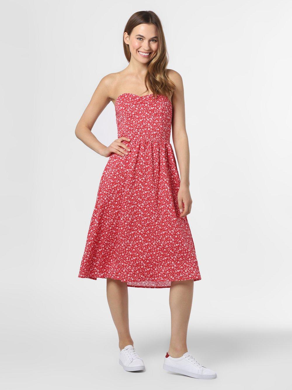 Tommy Jeans - Sukienka damska, czerwony