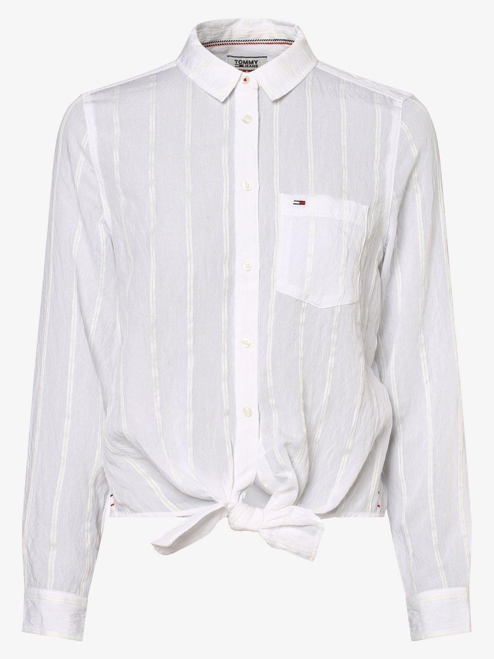 Tommy Jeans - Bluzka damska, biały