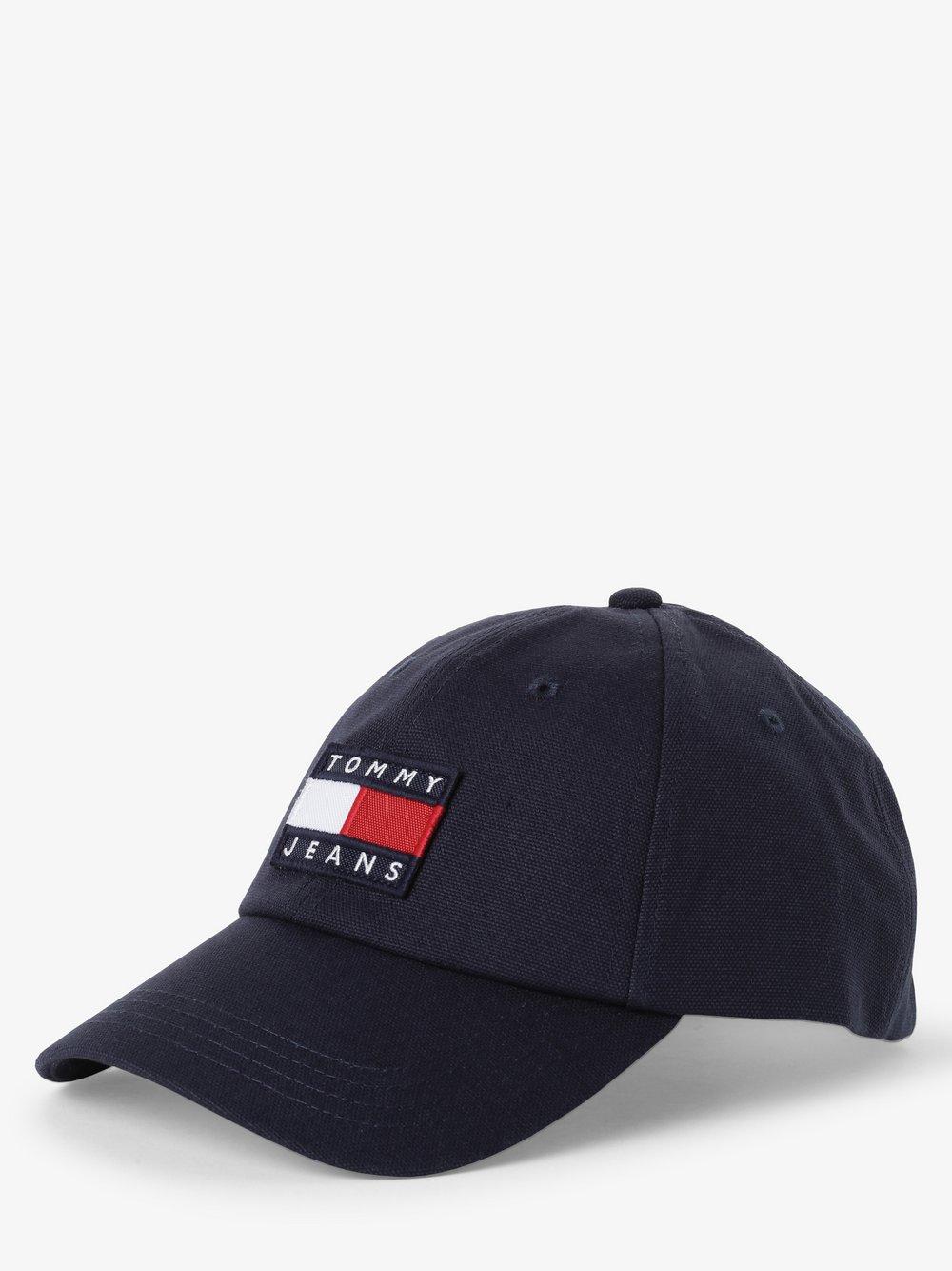 Tommy Jeans - Damska czapka z daszkiem, czarny