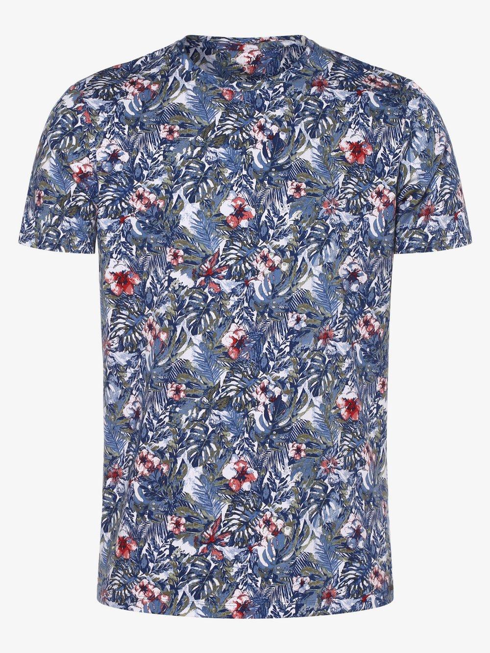 Olymp Level Five – T-shirt męski, niebieski Van Graaf 463446-0001