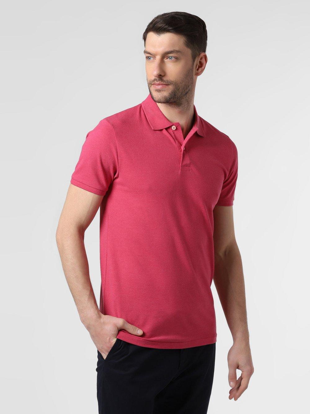 Nils Sundström - Męska koszulka polo, czerwony