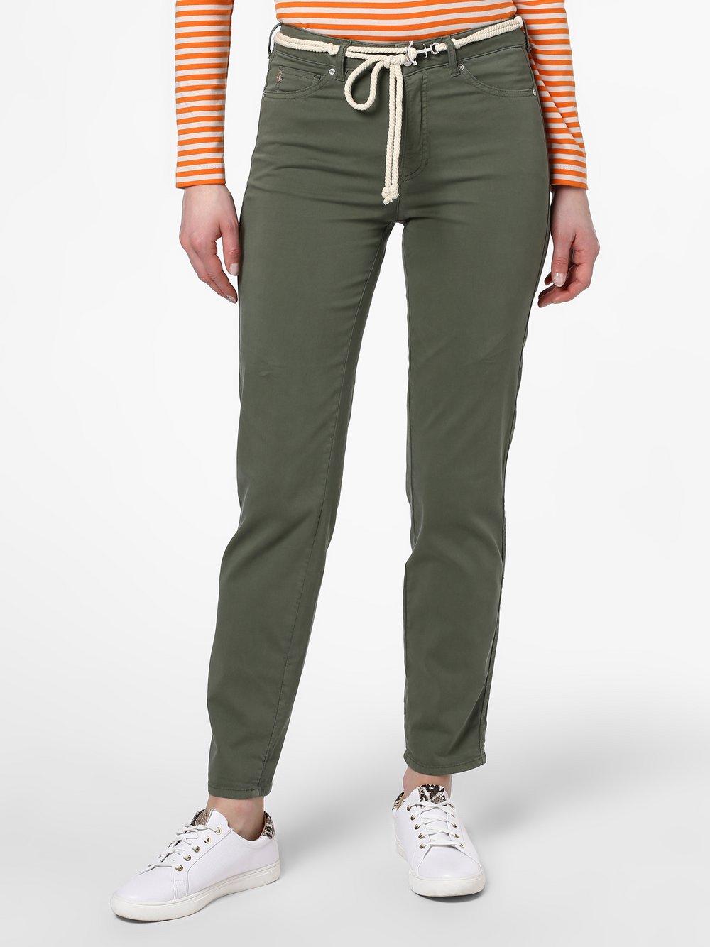 Rosner - Spodnie damskie – Mila_002G, zielony