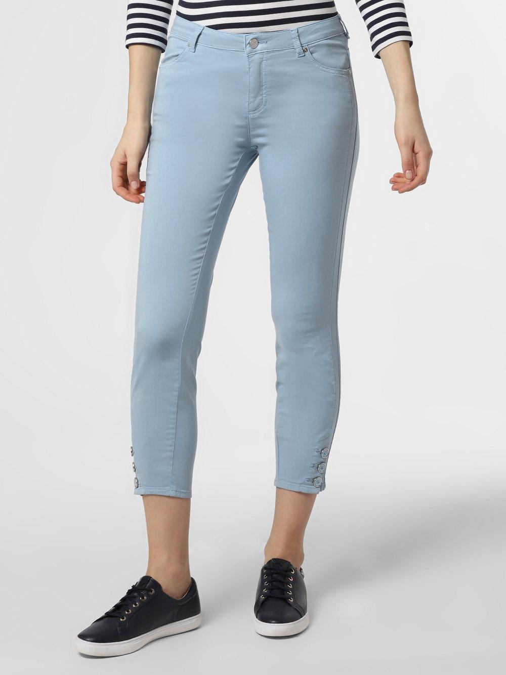 Rosner - Spodnie damskie – Antonia, niebieski