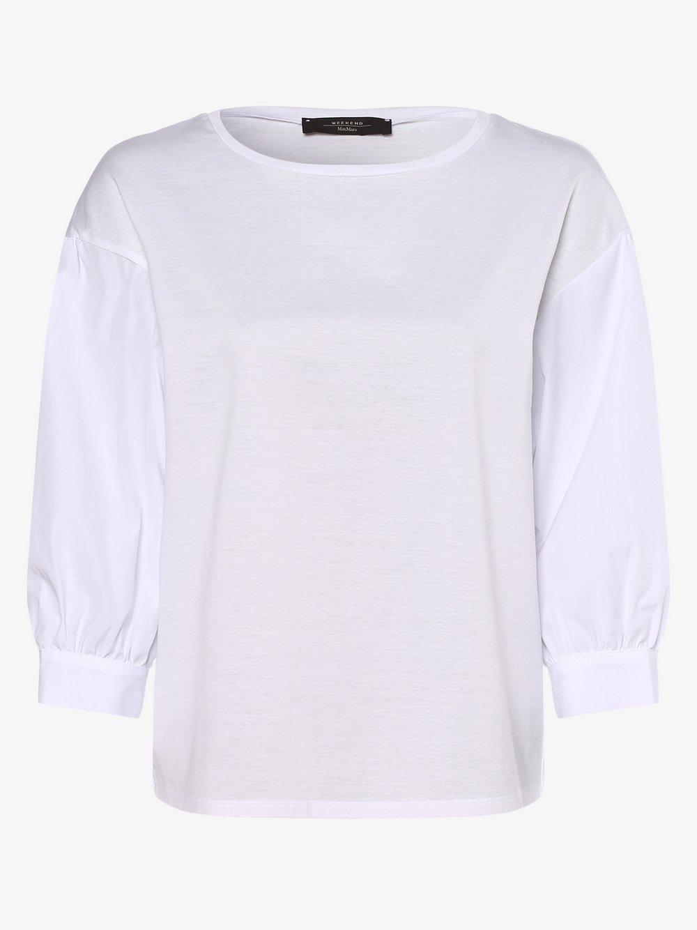 Weekend Max Mara - Koszulka damska, biały