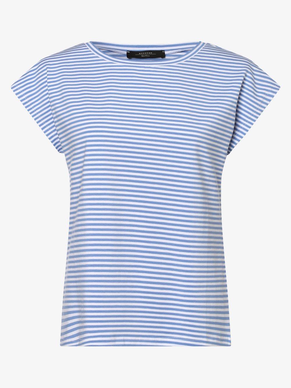 Weekend Max Mara - Koszulka damska, niebieski
