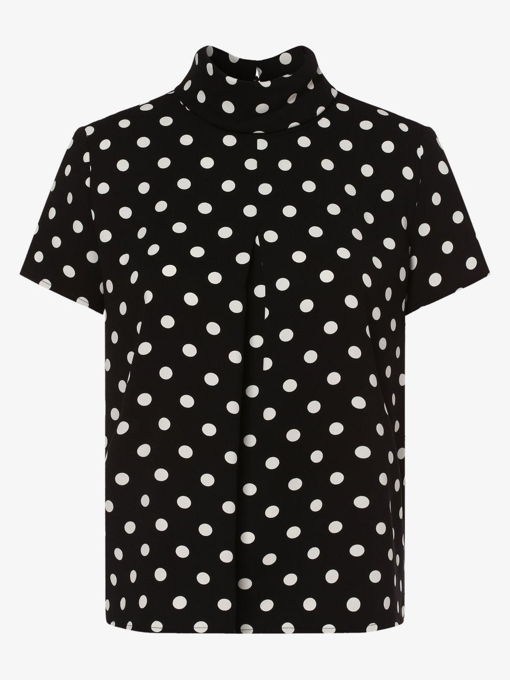Esprit Collection – Bluzka damska, czarny Van Graaf 464006-0002
