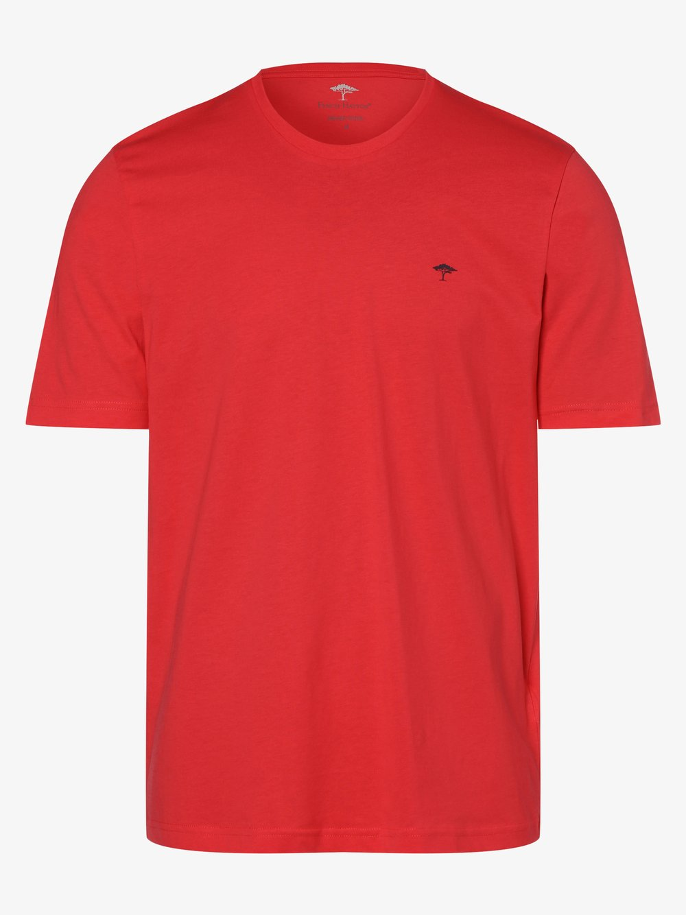Fynch-Hatton – T-shirt męski, zielony Van Graaf 464093-0002