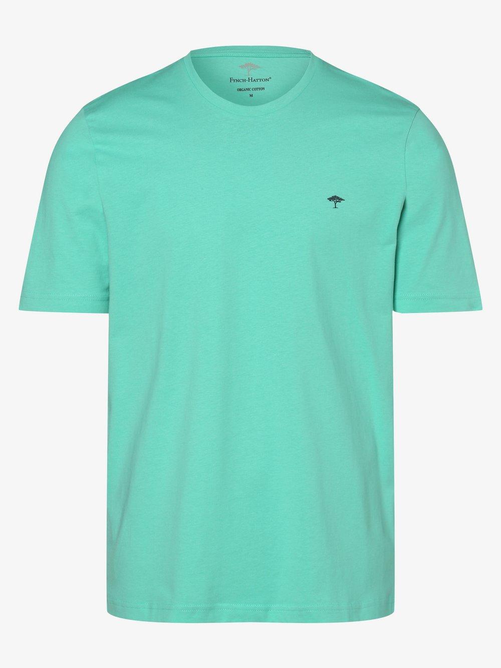 Fynch-Hatton - T-shirt męski, zielony