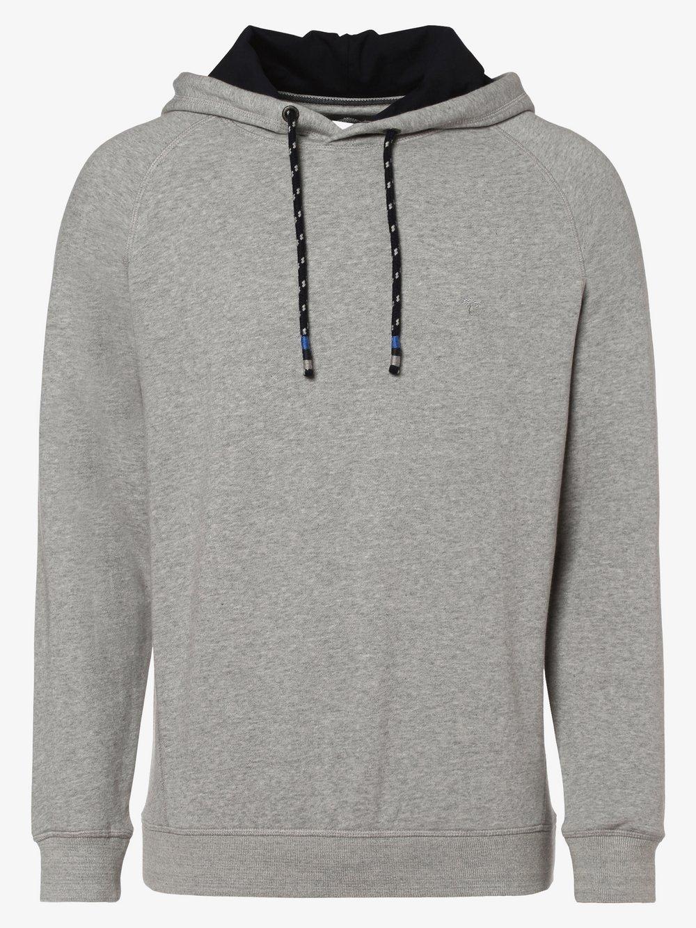 Fynch-Hatton - Męska bluza nierozpinana, szary