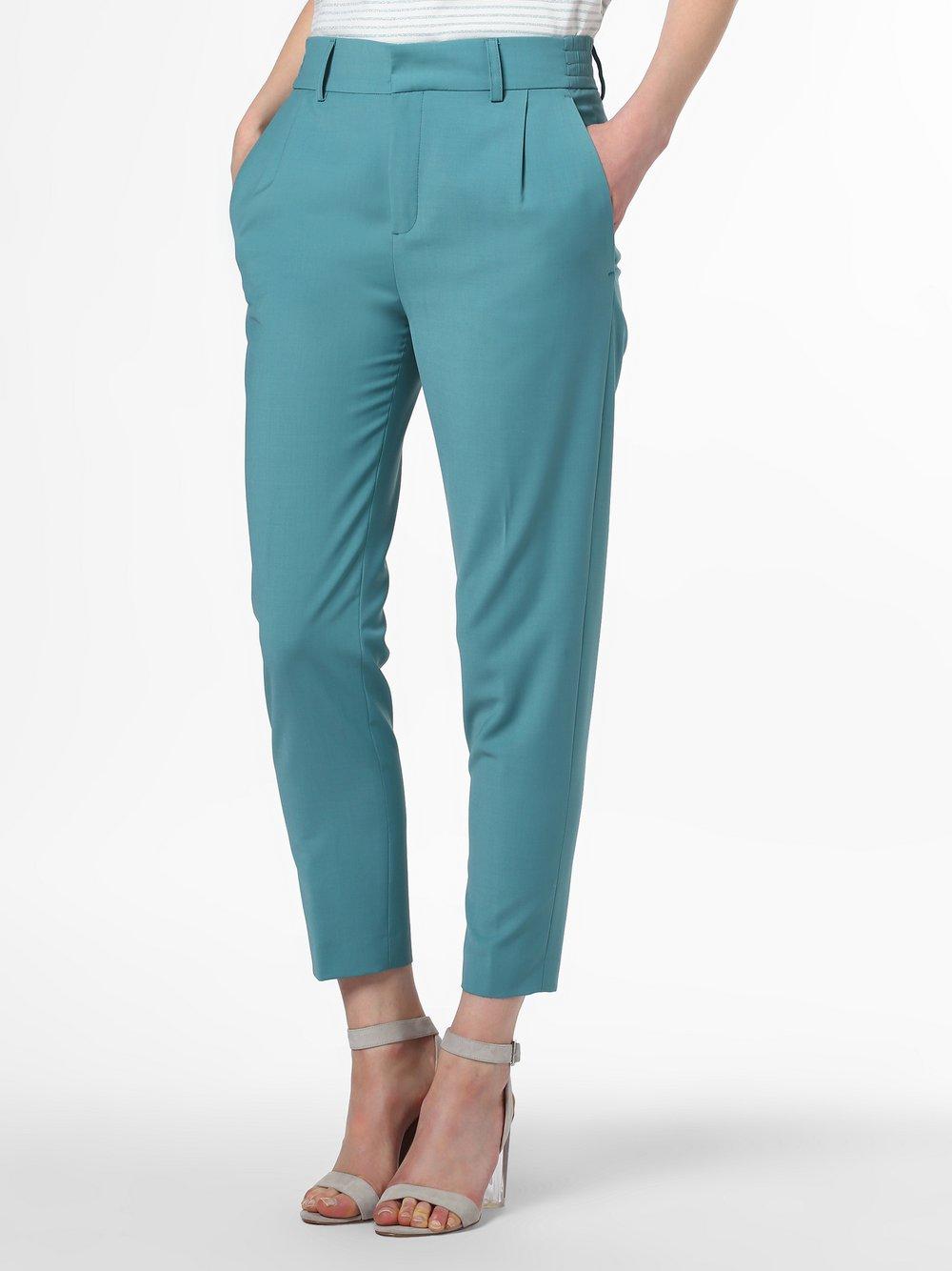 BRAX Damskie spodnie lniane – Maine S, zielony
