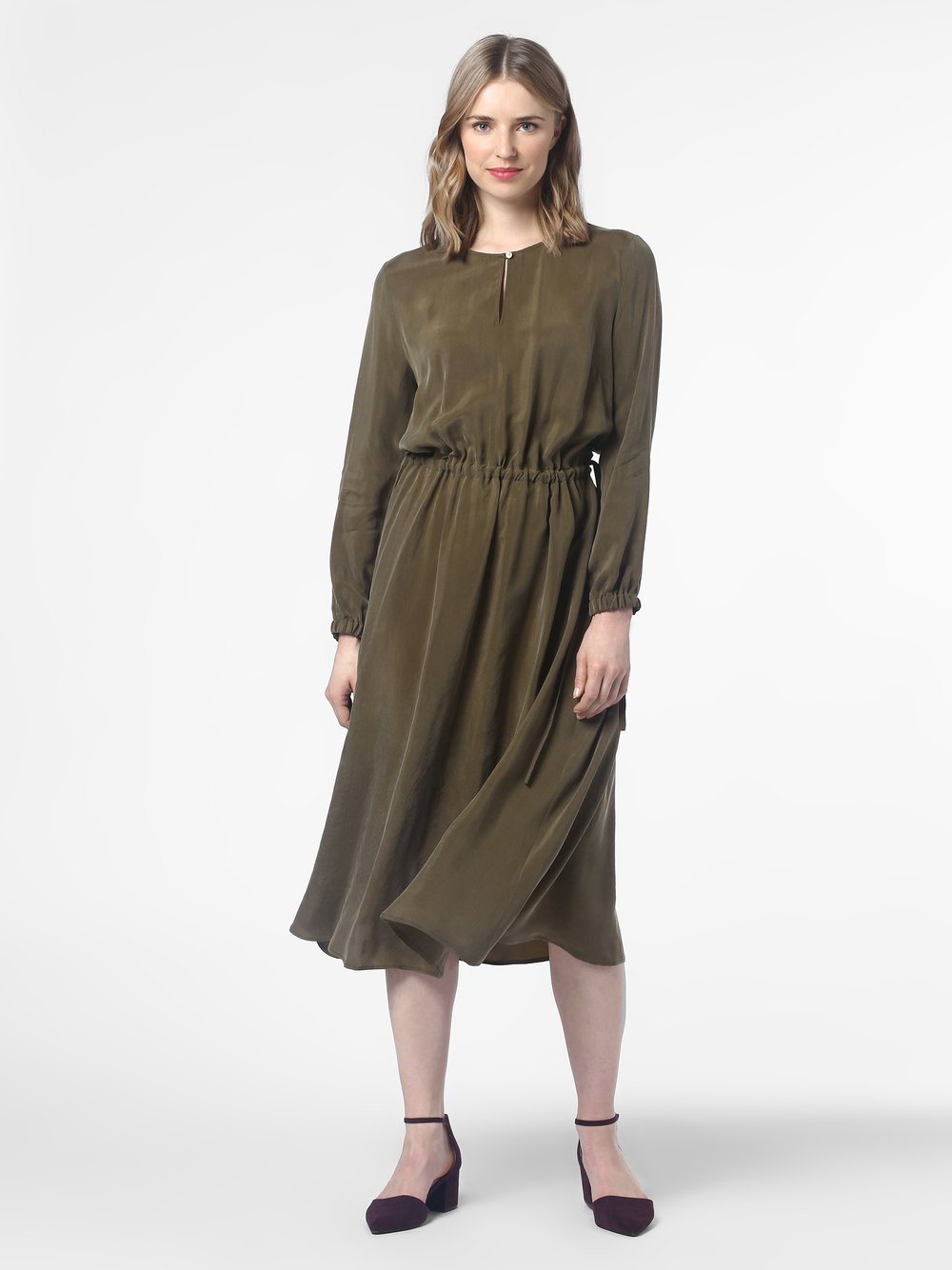 Drykorn - Sukienka damska – Calsey, zielony