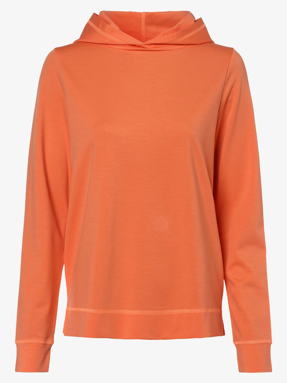 Drykorn - Damska bluza nierozpinana – Papilia, pomarańczowy