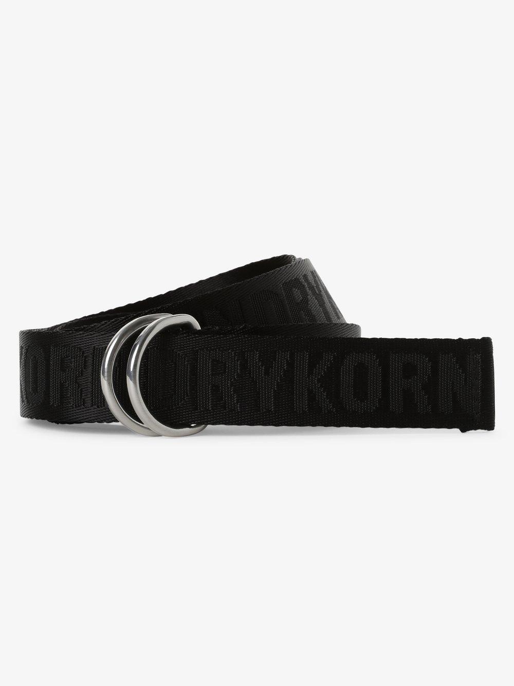 Drykorn - Pasek z logo – Harness, czarny