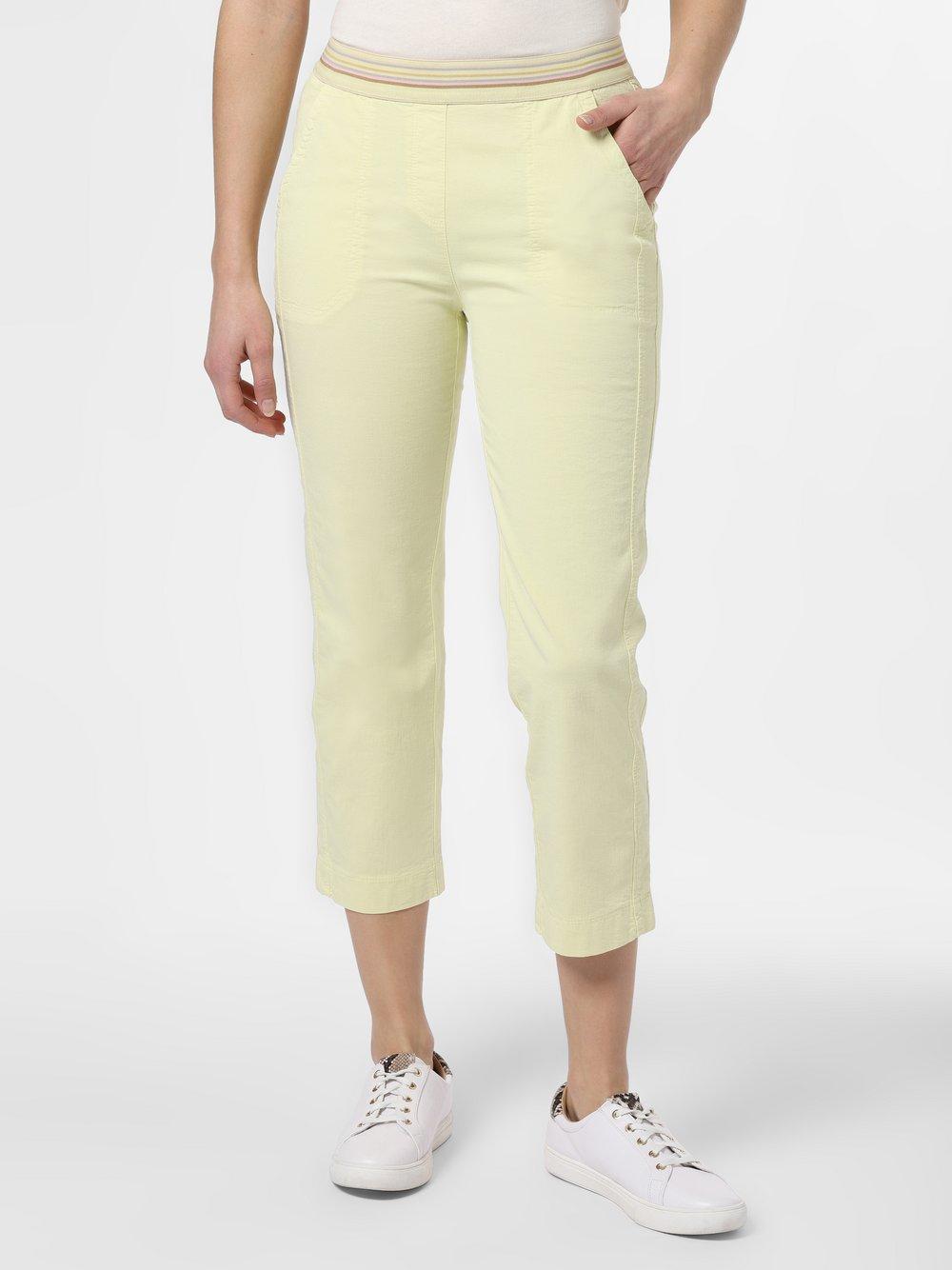 TONI – Spodnie damskie – Sue, żółty Van Graaf 464263-0001-00460