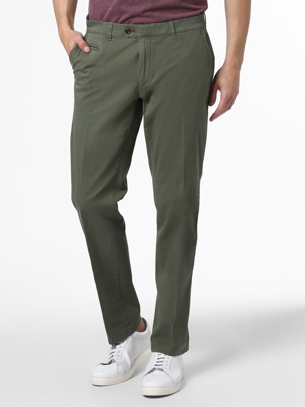 BRAX - Spodnie męskie – Everest, zielony