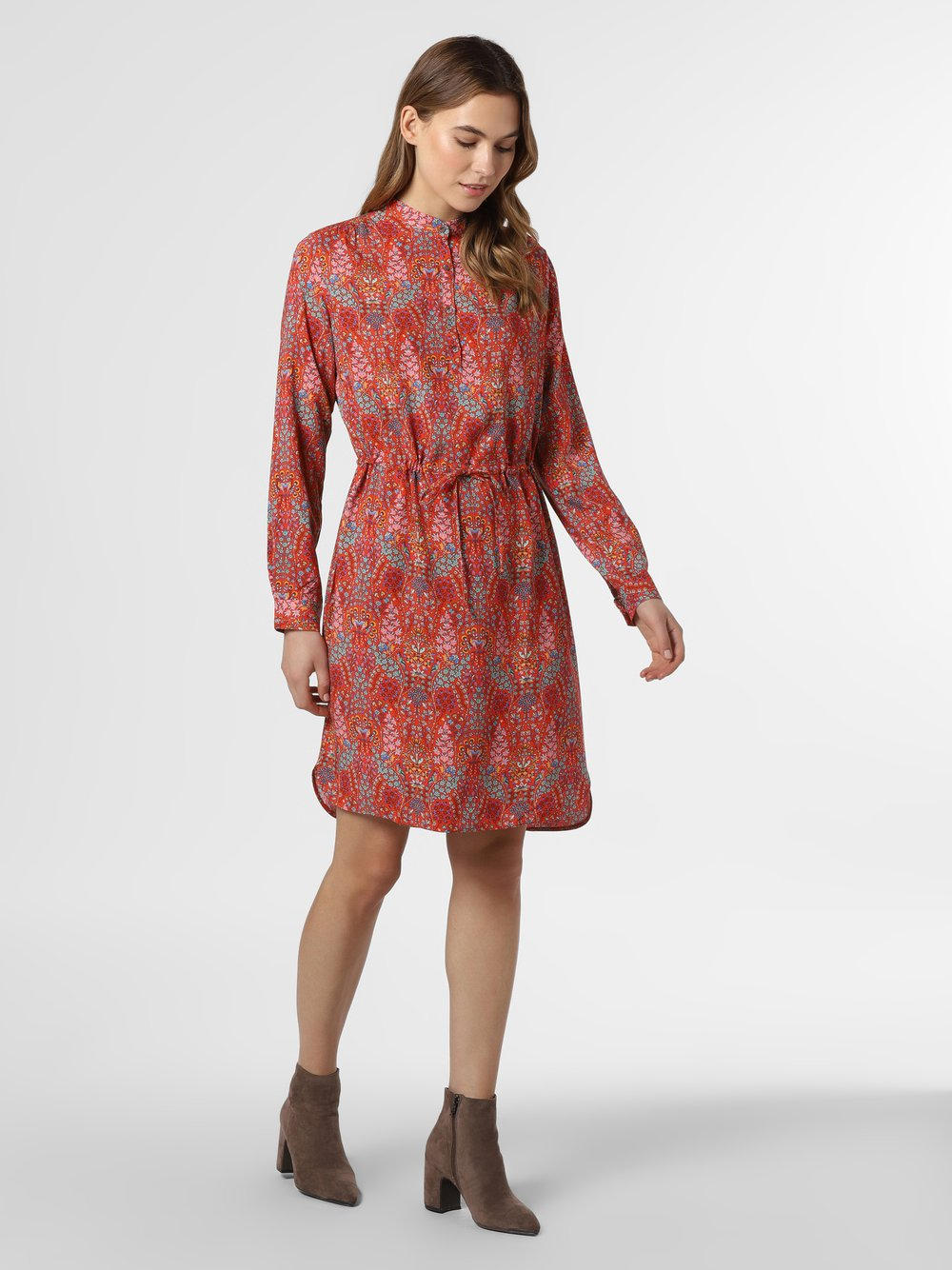 0039 Italy – Sukienka damska – Moss New, pomarańczowy Van Graaf 464277-0001
