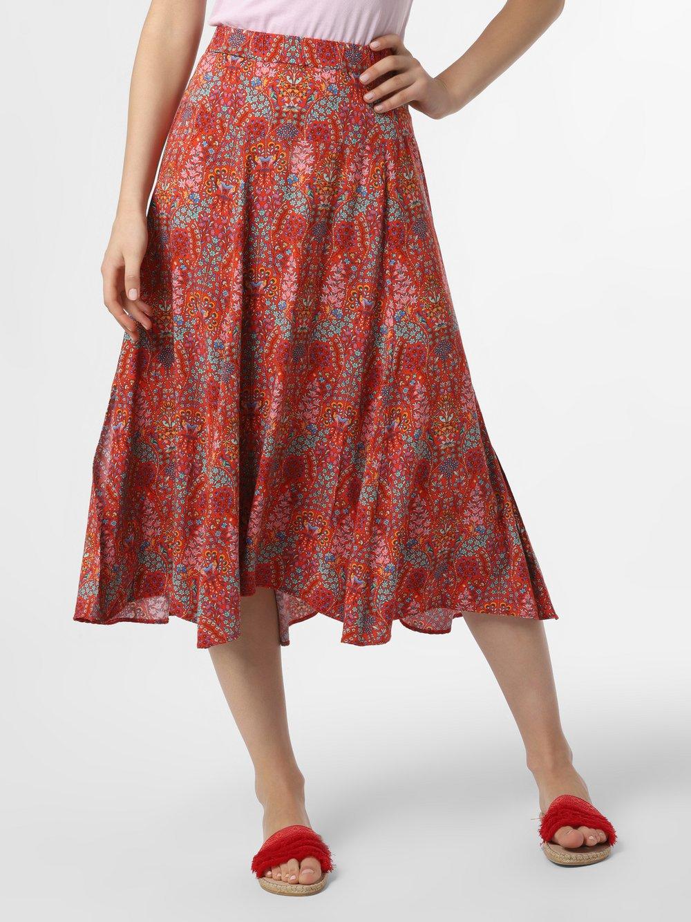 0039 Italy – Spódnica damska – Fili, pomarańczowy Van Graaf 464279-0001