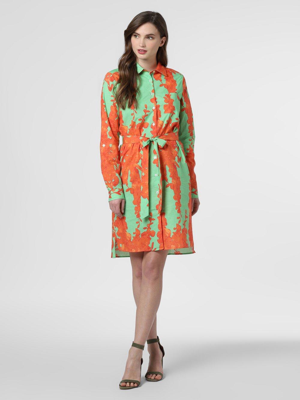 0039 Italy – Sukienka damska, pomarańczowy Van Graaf 464282-0001-09920