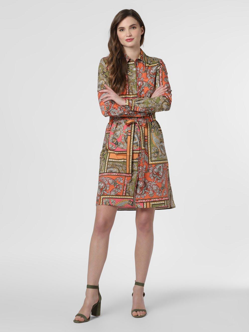 0039 Italy – Sukienka damska – Gracia, zielony Van Graaf 464283-0001