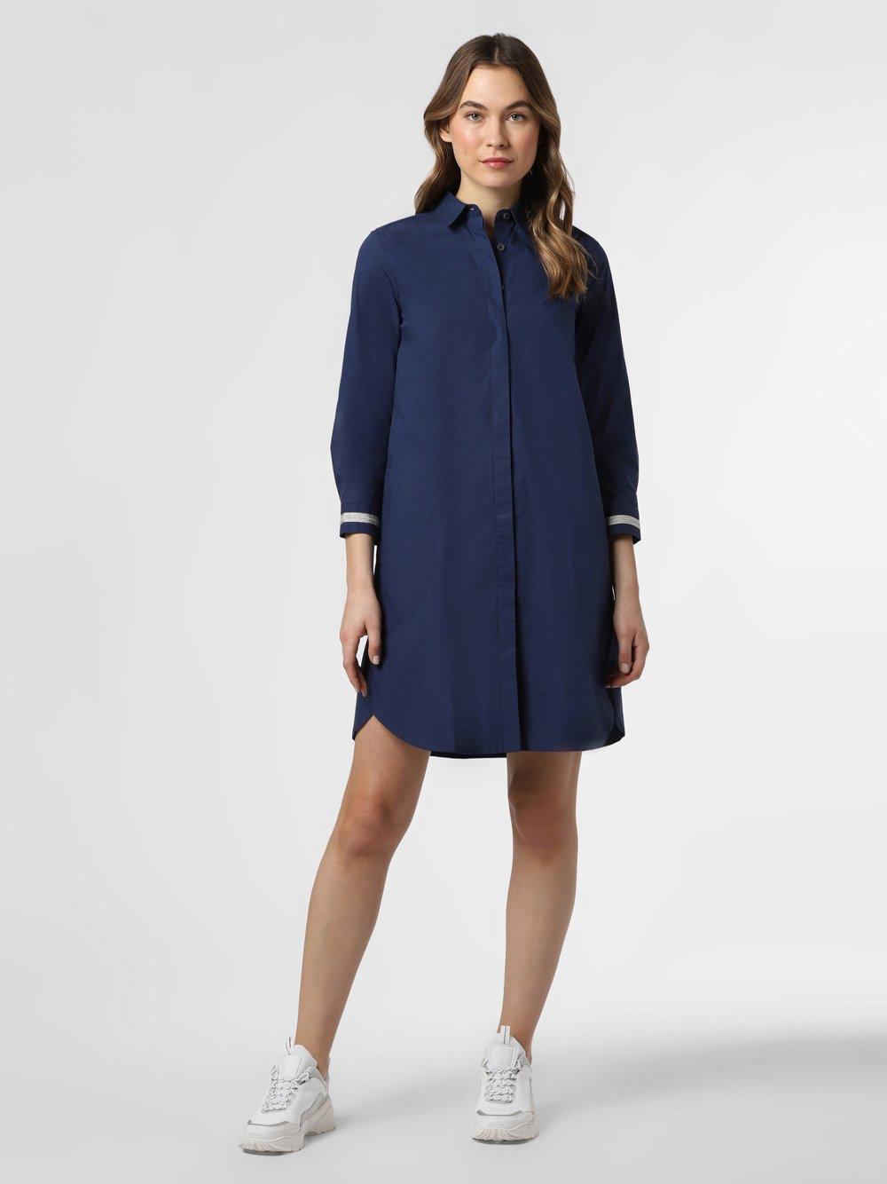 0039 Italy – Sukienka damska, niebieski Van Graaf 464288-0001