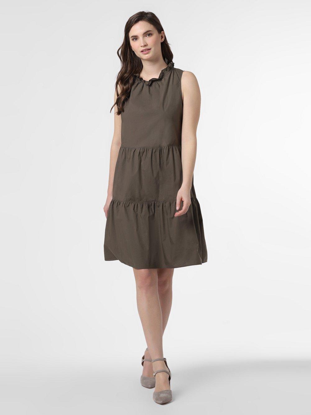 0039 Italy – Sukienka damska, zielony Van Graaf 464299-0002-09940