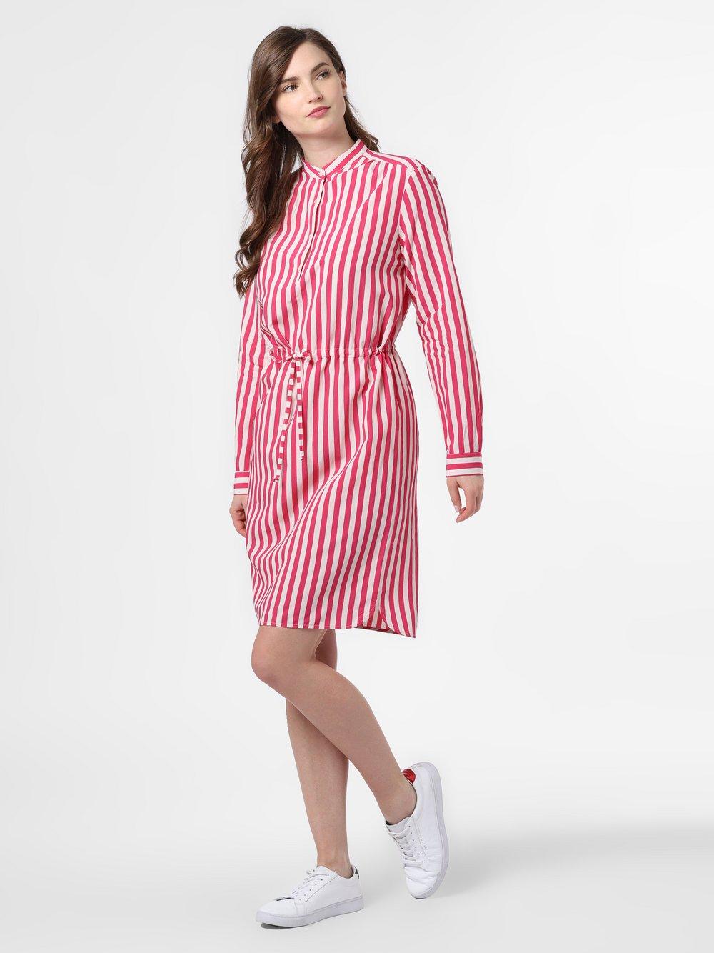 0039 Italy – Sukienka damska – Moss New, różowy Van Graaf 464300-0001-09940