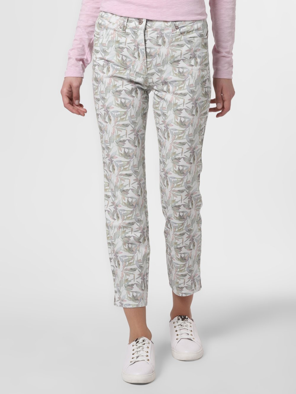 TONI – Spodnie damskie, beżowy Van Graaf 464323-0001-00420