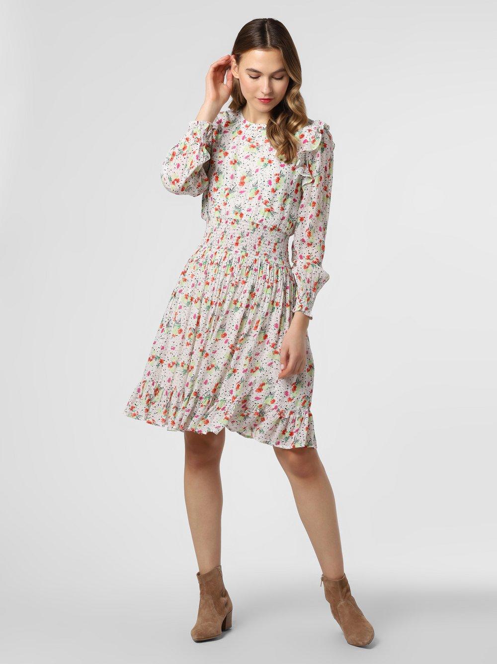 Essentiel Antwerp – Sukienka damska – Vlannen, beżowy Van Graaf 464346-0001