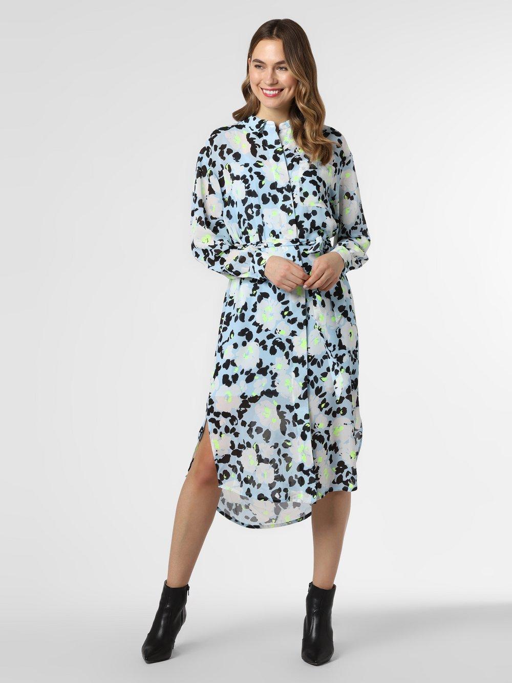 Essentiel Antwerp – Sukienka damska – Voho, niebieski Van Graaf 464374-0001-00420