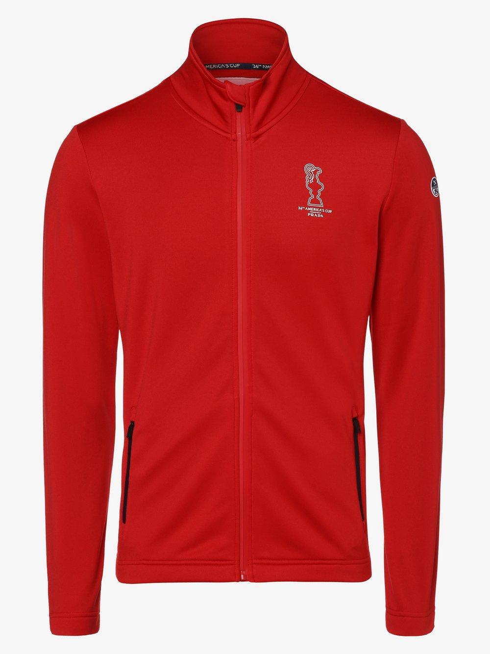 North Sails – Męska bluza nierozpinana, czerwony Van Graaf 464457-0001-09995