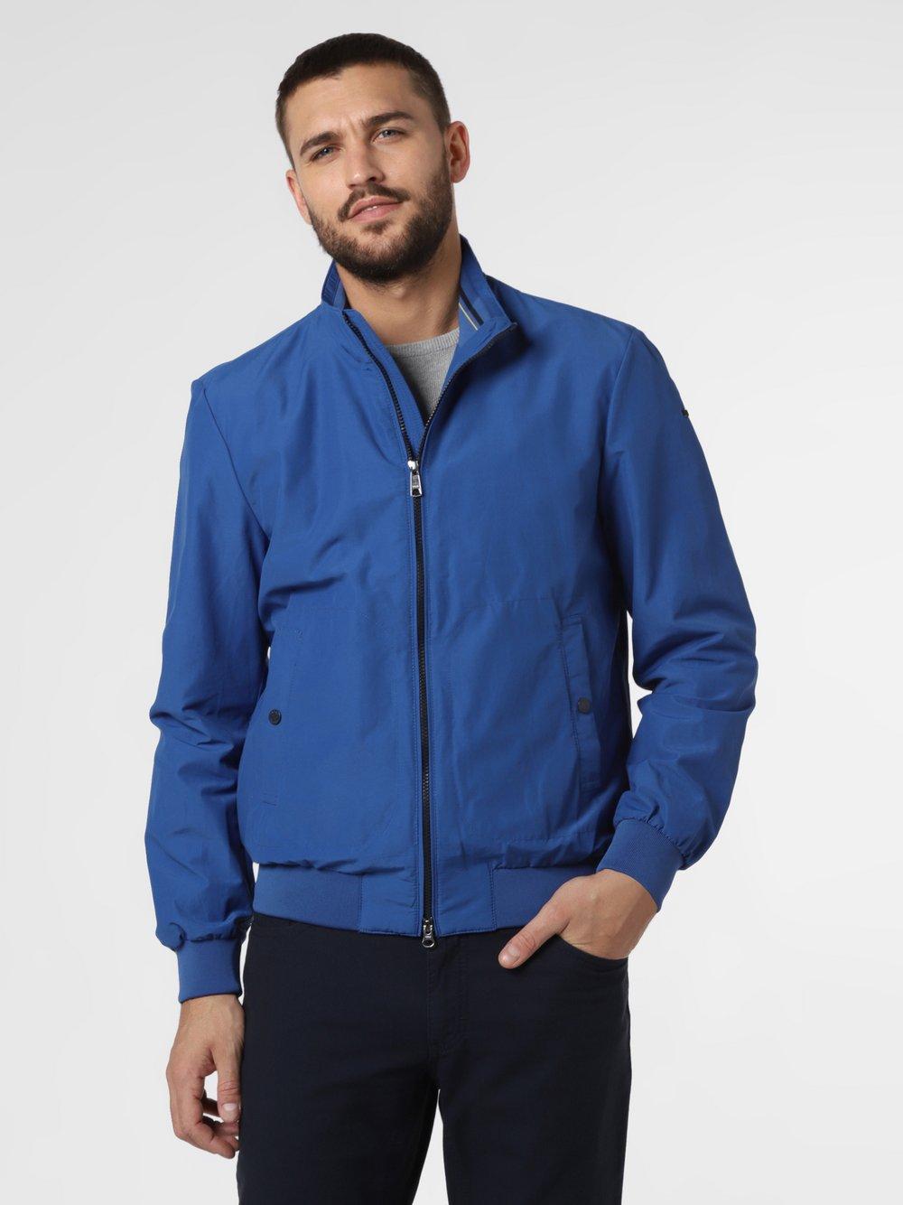 GEOX - Męska kurtka funkcyjna – Vincit, niebieski