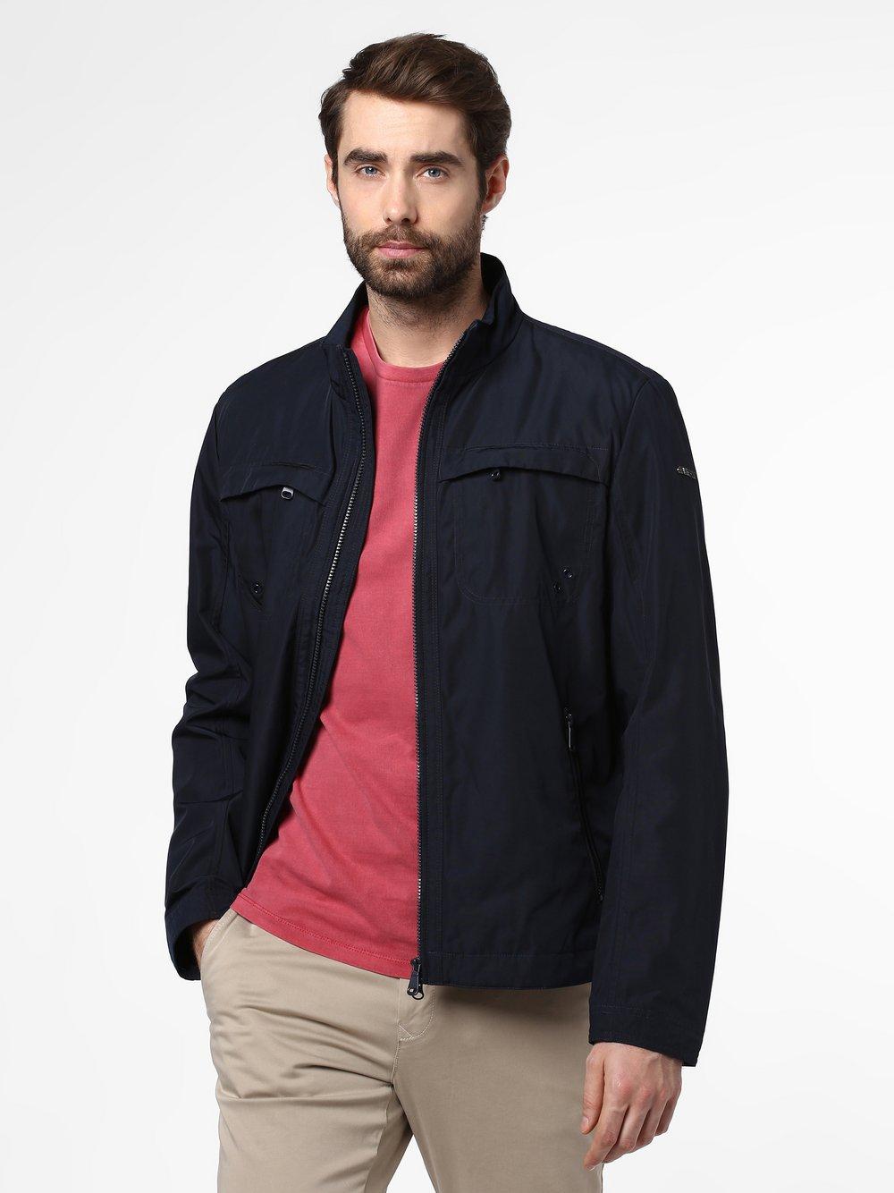 GEOX - Męska kurtka funkcyjna – Renny, niebieski