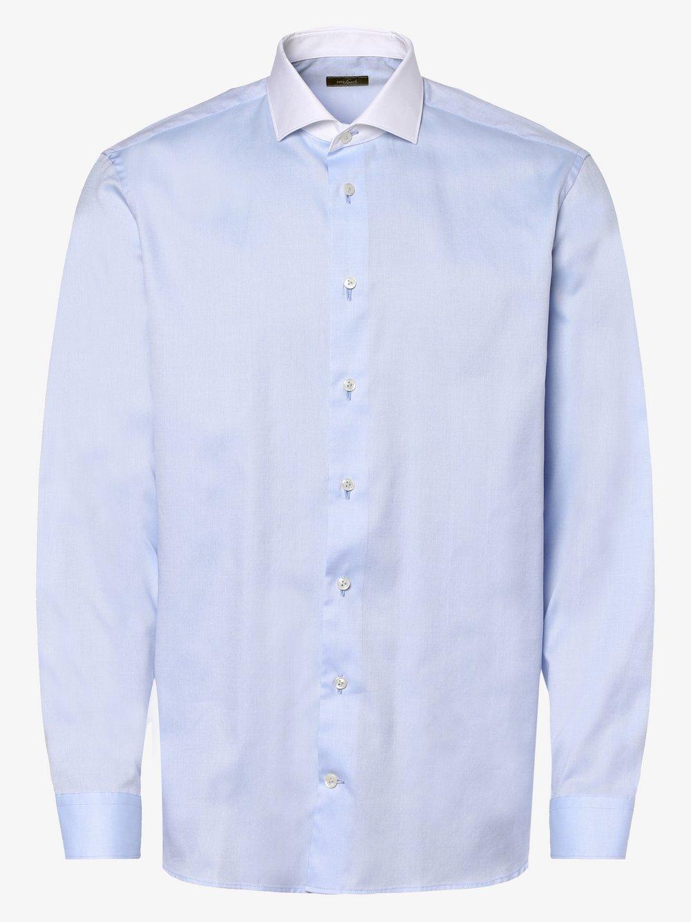 Van Laack – Koszula męska, niebieski Van Graaf 464602-0001-00400