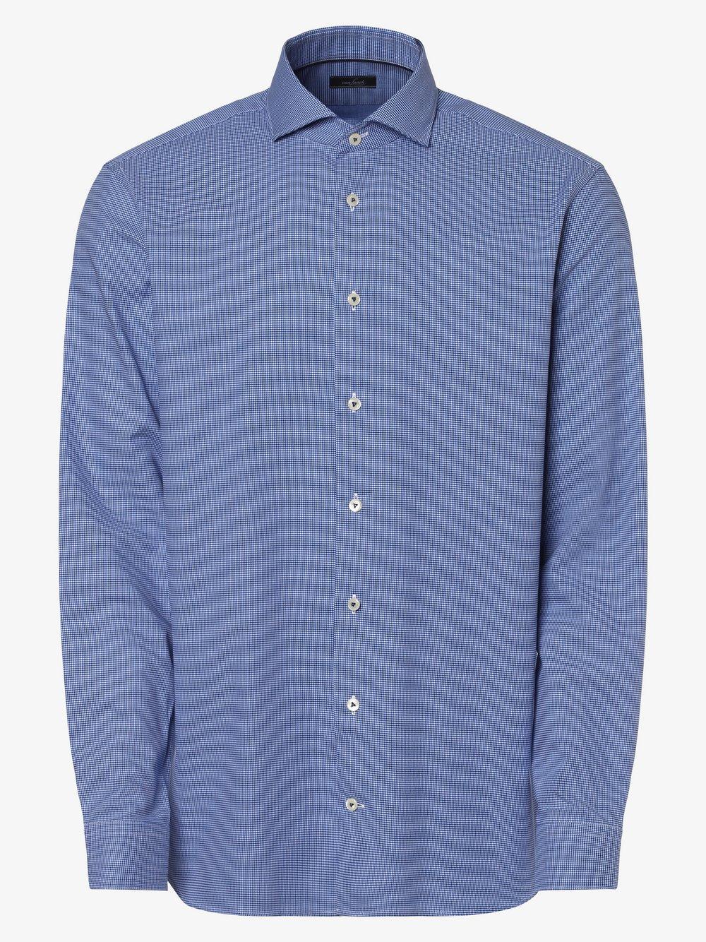 Van Laack – Koszula męska, niebieski Van Graaf 464606-0001-00420