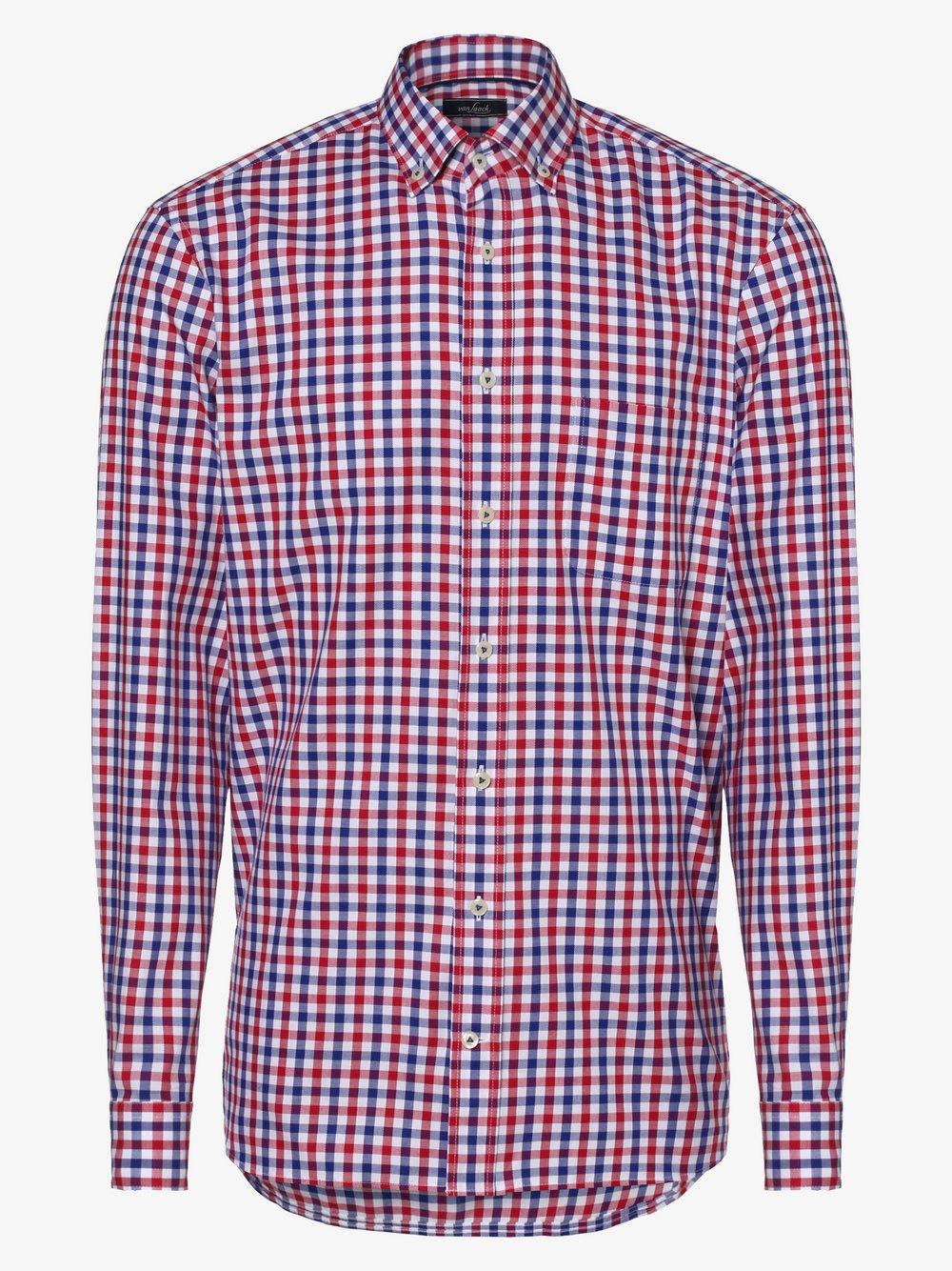 Van Laack – Koszula męska, biały Van Graaf 464607-0003