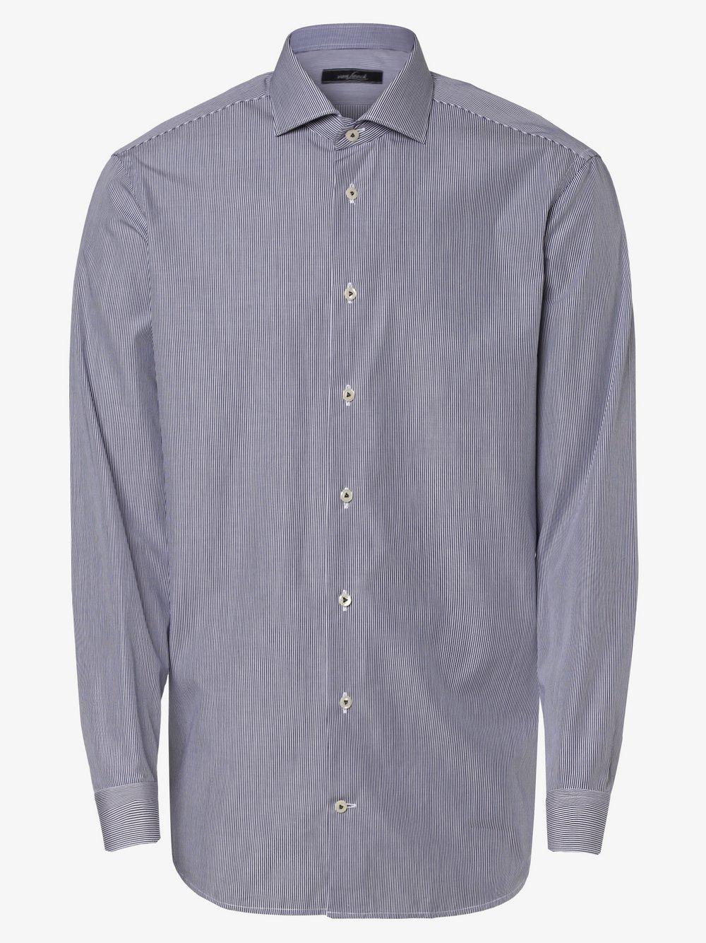 Van Laack – Koszula męska, niebieski Van Graaf 464609-0001-00390
