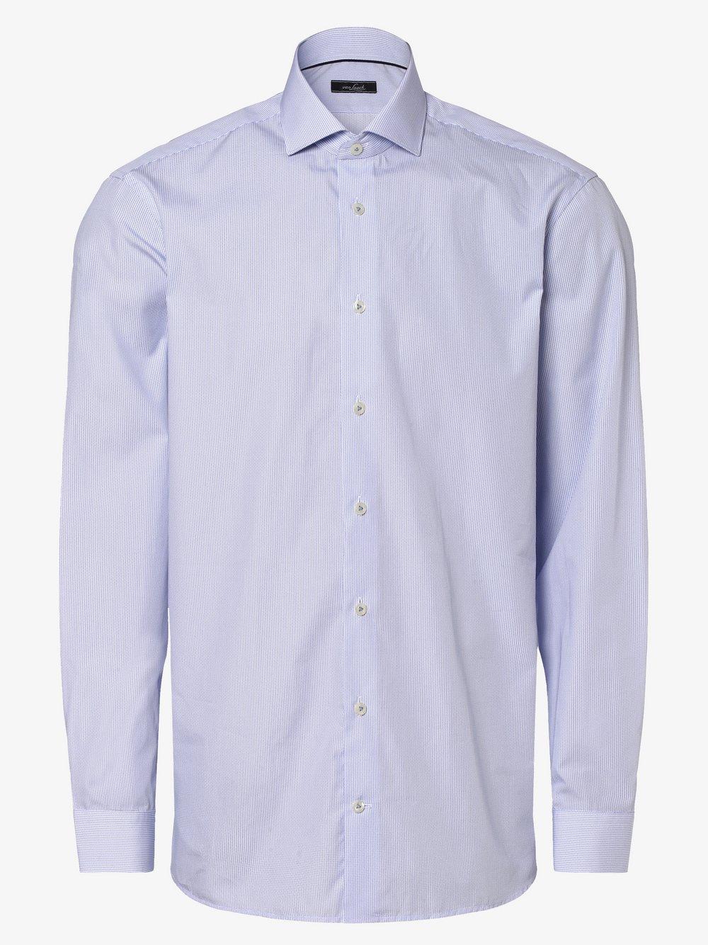 Van Laack – Koszula męska, niebieski Van Graaf 464611-0001-00420