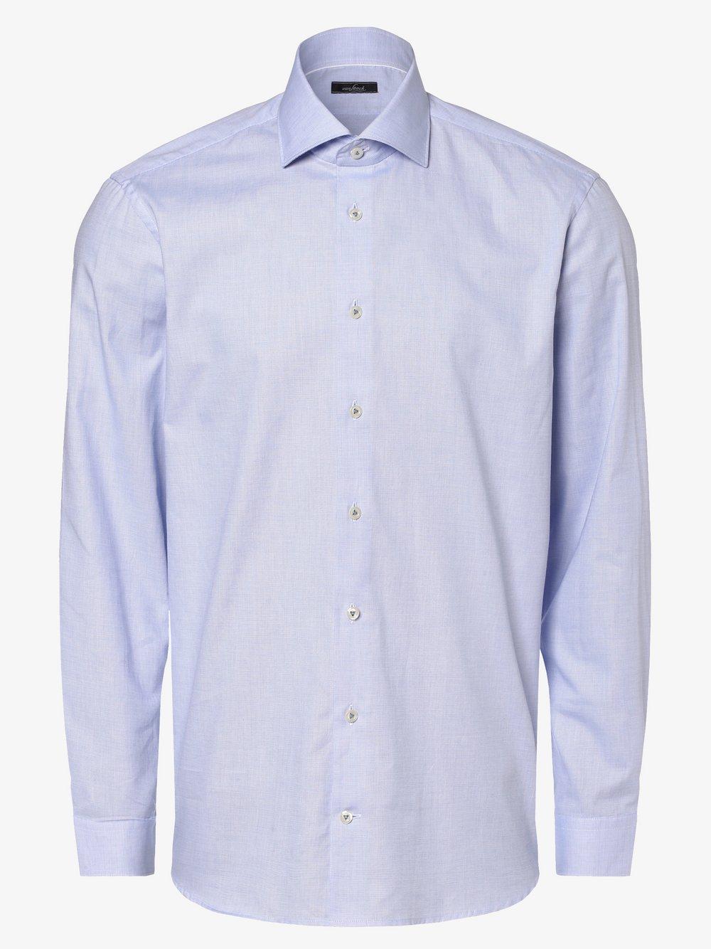 Van Laack – Koszula męska, niebieski Van Graaf 464612-0001