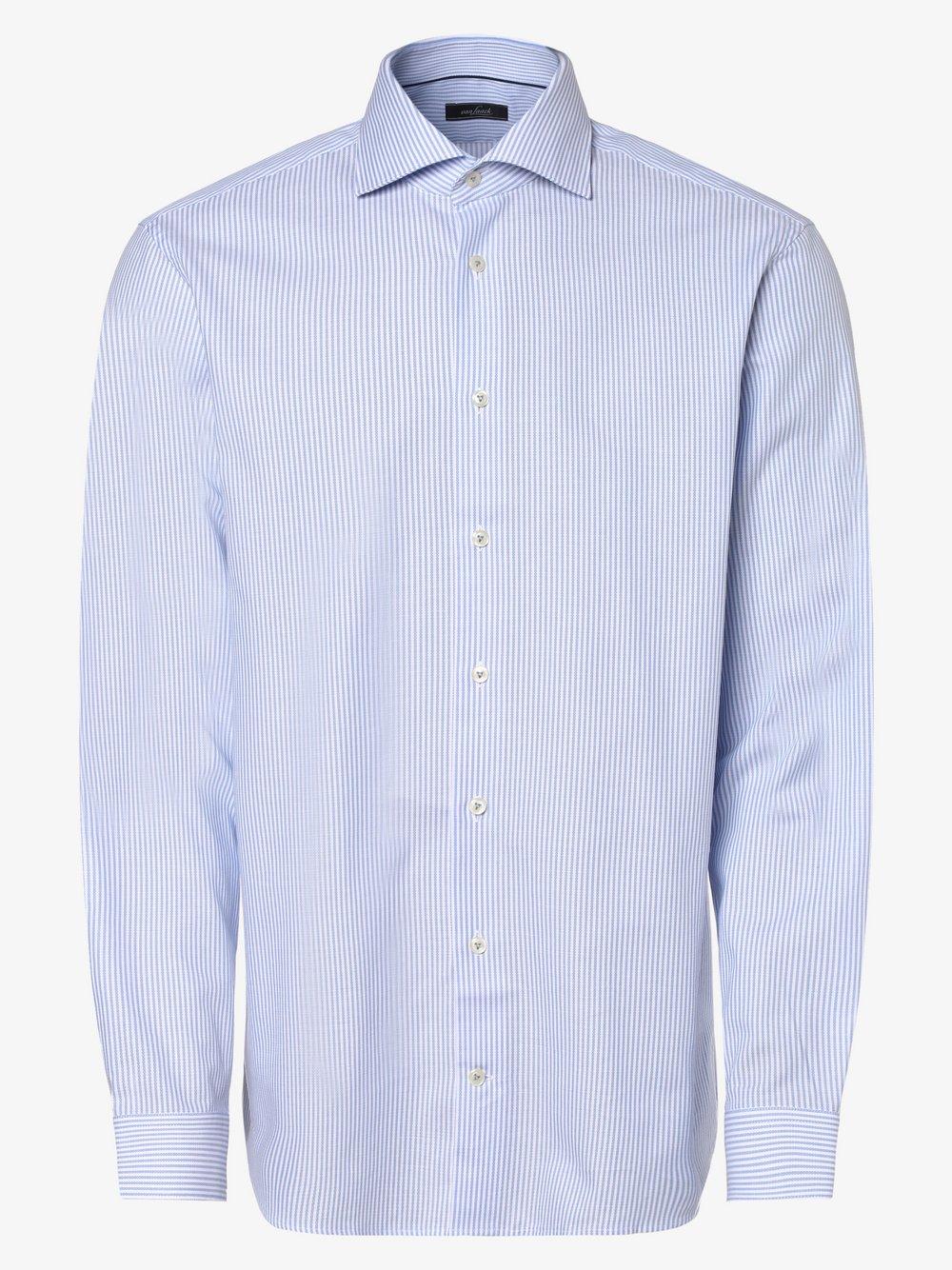 Van Laack – Koszula męska, niebieski Van Graaf 464613-0001