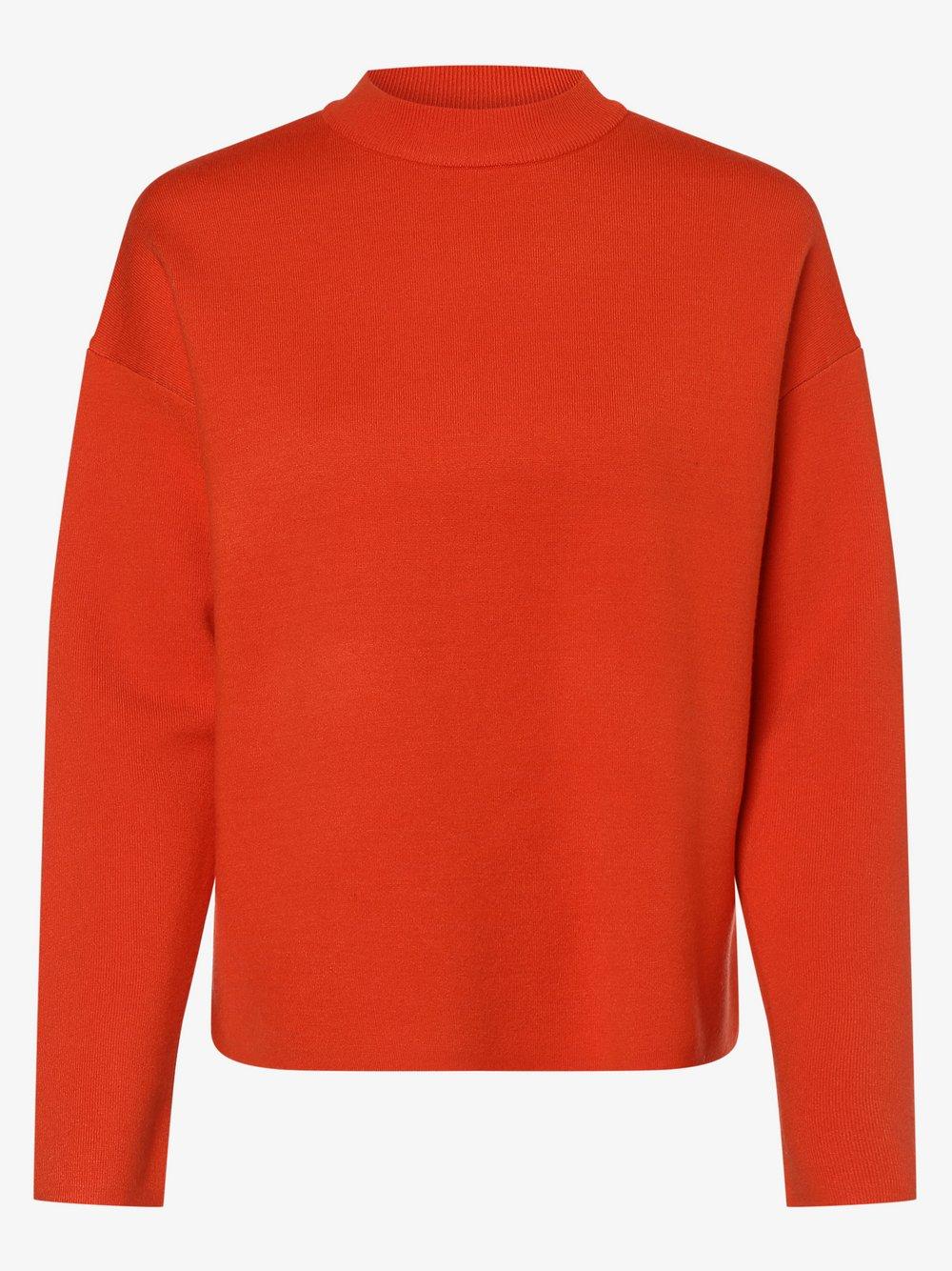 Opus - Sweter damski – Preffi, pomarańczowy