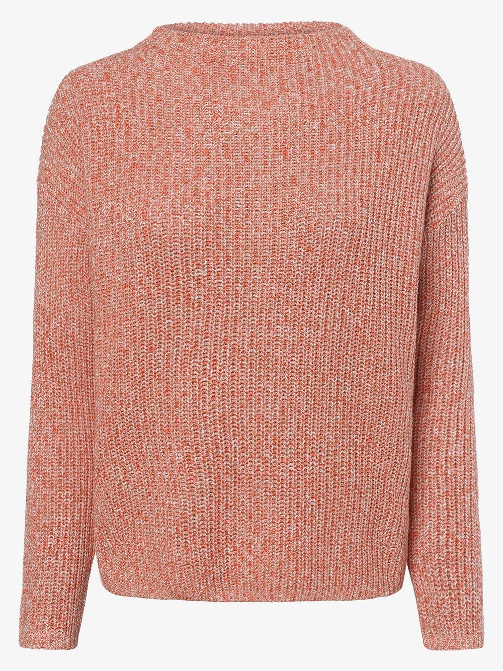 Opus - Sweter damski – Parto Mouline, pomarańczowy