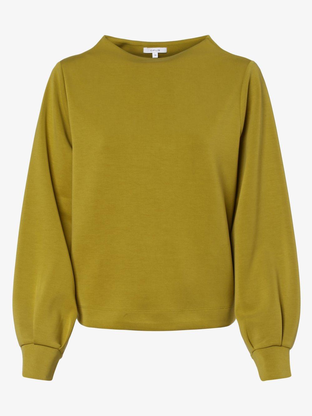 Opus - Damska bluza nierozpinana – Gaumi, zielony