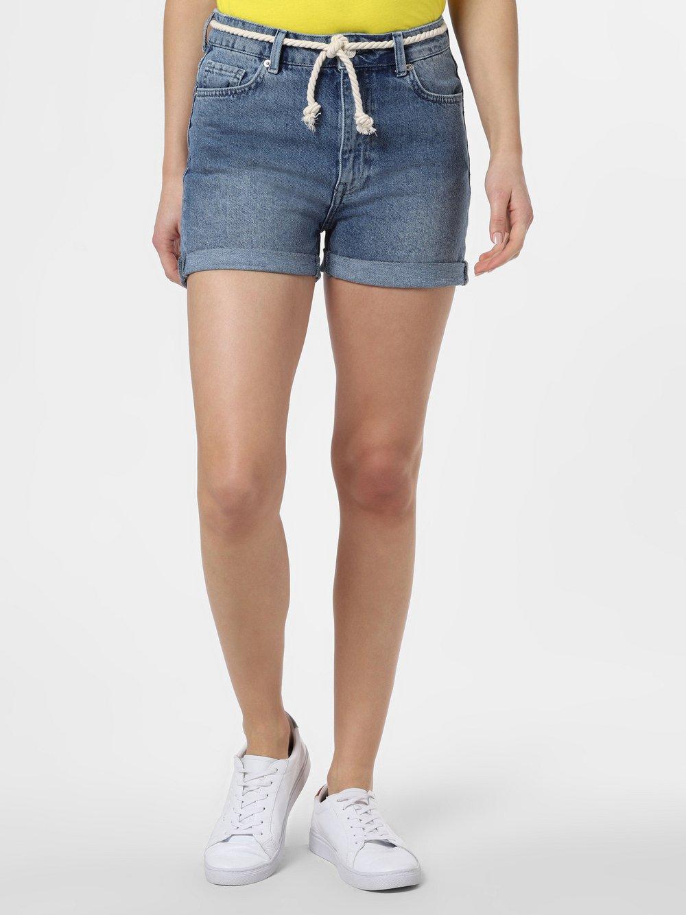 Minimum – Damskie spodenki jeansowe – Abarna, niebieski Van Graaf 464878-0001