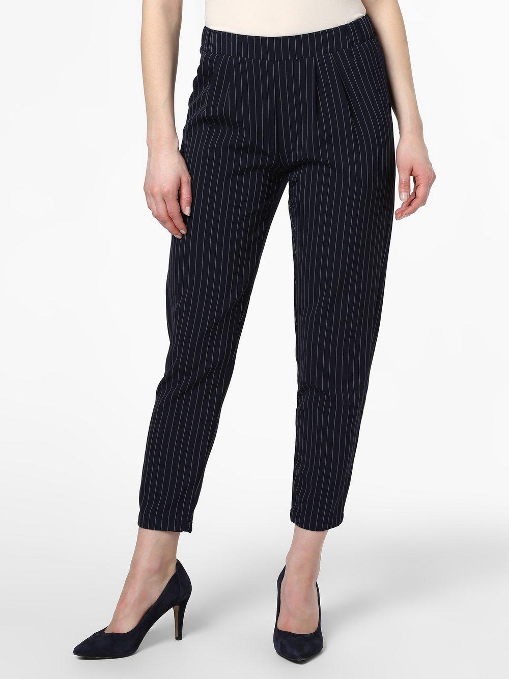 Minimum – Spodnie damskie – Sofja, niebieski Van Graaf 464879-0001-00360