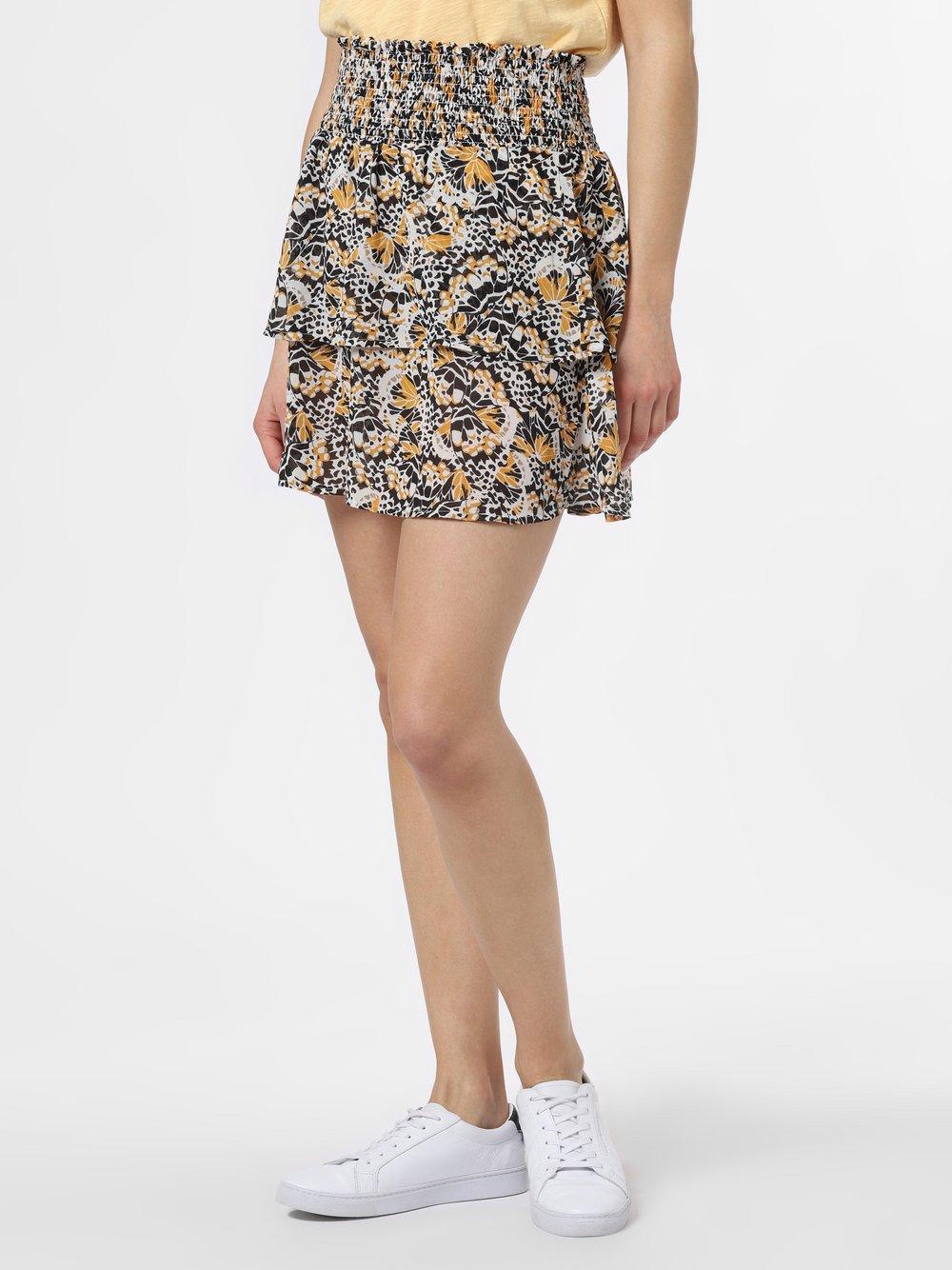 Minimum – Spódnica damska – Antoinette, żółty Van Graaf 464885-0001-00380