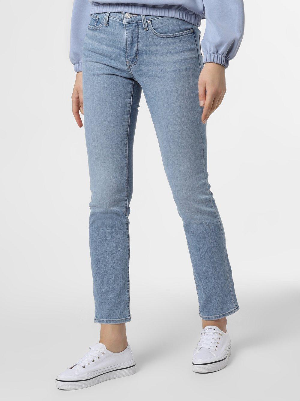 Levi's - Jeansy damskie – 312™ Shaping Slim, niebieski